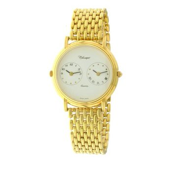Classique Unisex Stainless Steel Gold Plated Swiss Quartz Watch - #12-51B