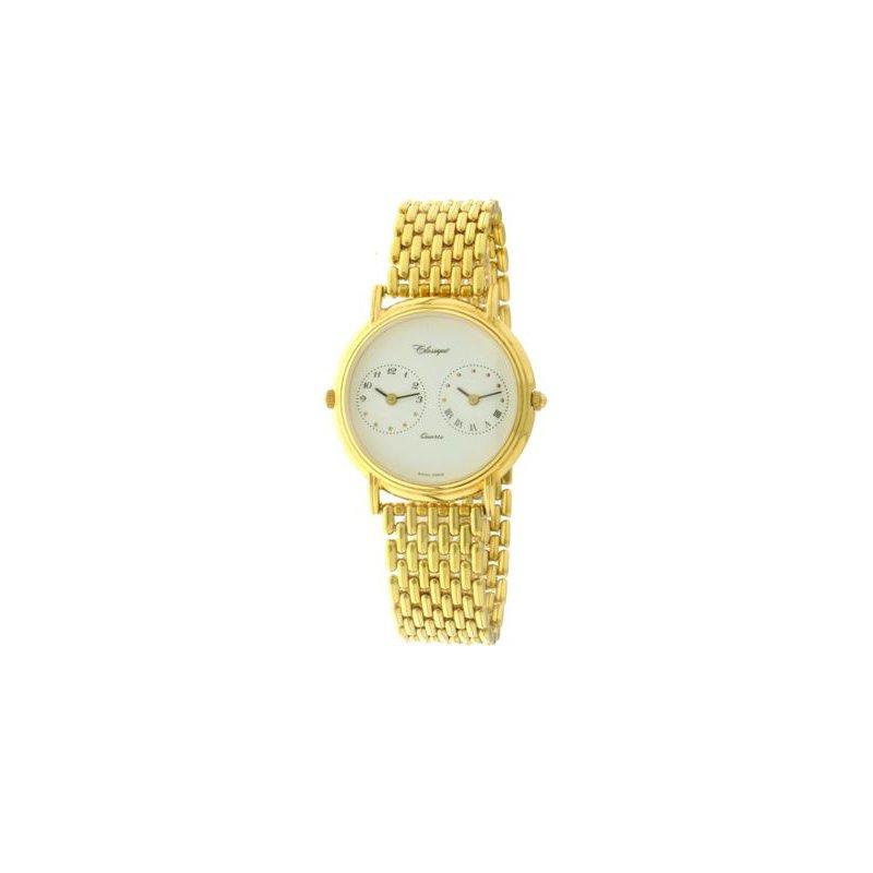 Swiss Watches Classique Unisex Stainless Steel Gold Plated Swiss Quartz Watch - #12-51B