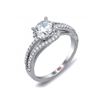 Demarco DW5780 - 18k White Gold Engagement Ring by Demarco