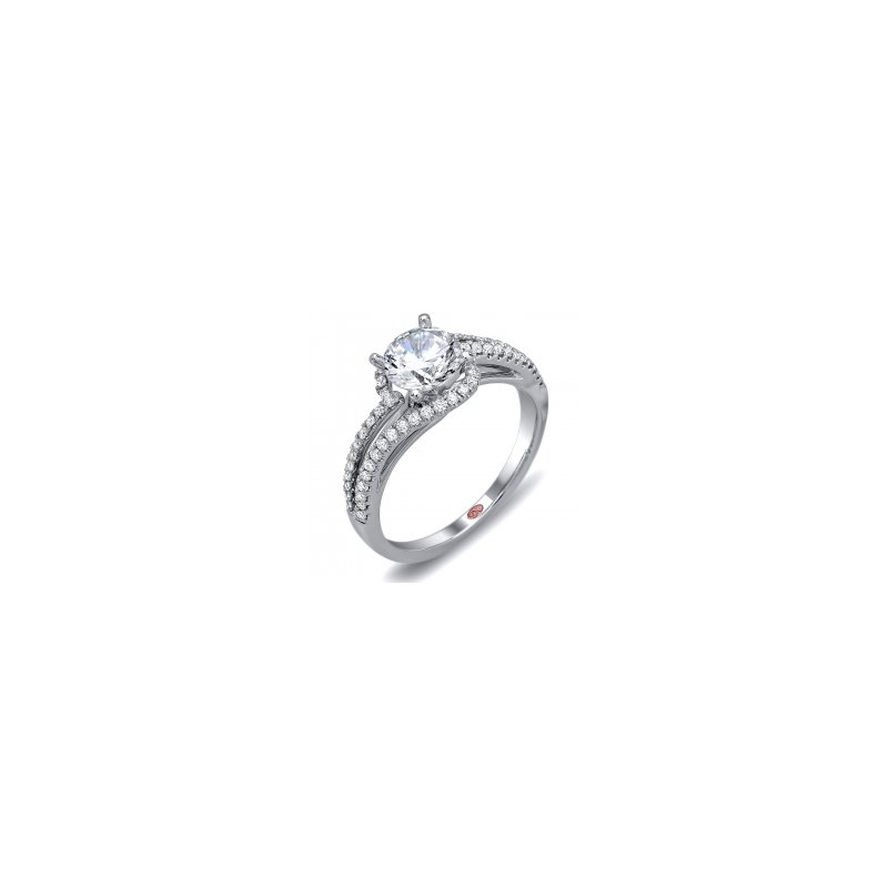 Demarco Demarco DW5780 - 18k White Gold Engagement Ring by Demarco
