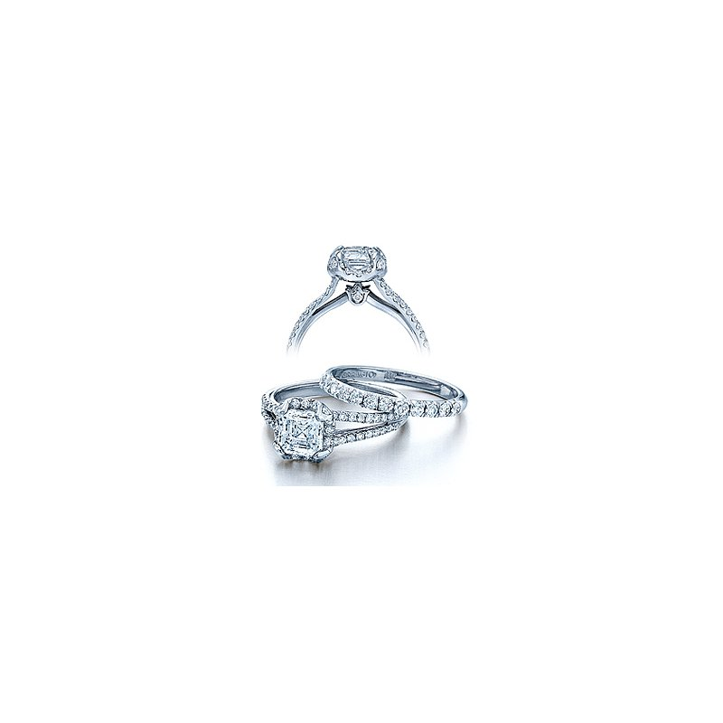 Verragio Verragio Couture 0378-PLT - Platinum Diamond Engagement Ring by Verragio