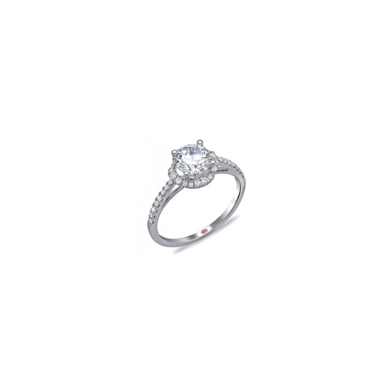 Demarco Demarco DW6085 - 18k White Gold Engagement Ring by Demarco