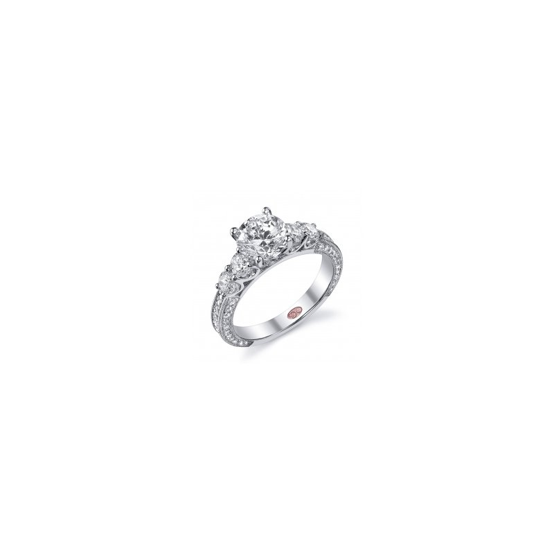 Demarco Demarco DW5180 - 18k White Gold Engagement Ring by Demarco