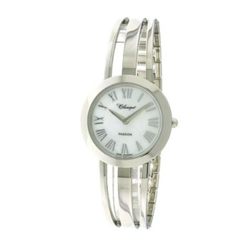 Classique' Ladies Stainless Steel 1/2 Bangle Watch - #28-130W