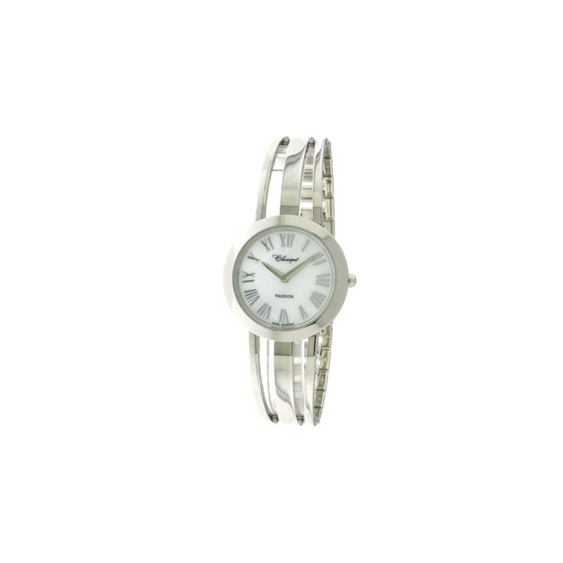 Swiss Watches Classique' Ladies Stainless Steel 1/2 Bangle Watch - #28-130W