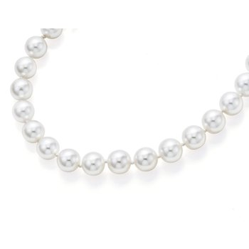 From the Pearl Collection 8-8.5mm Akoya White Pearl Strand