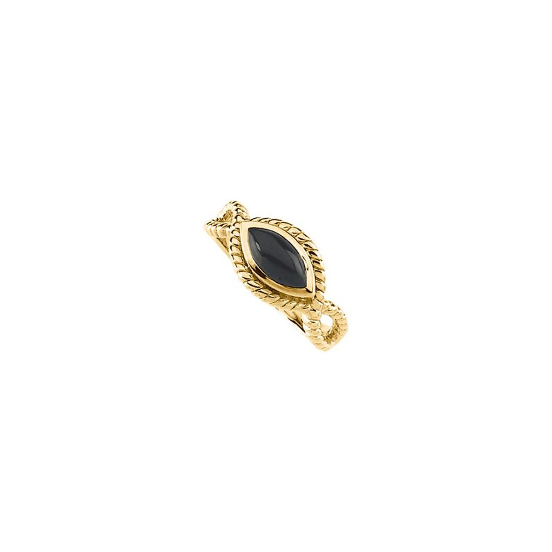 Signature Collection Genuine Onyx Ring