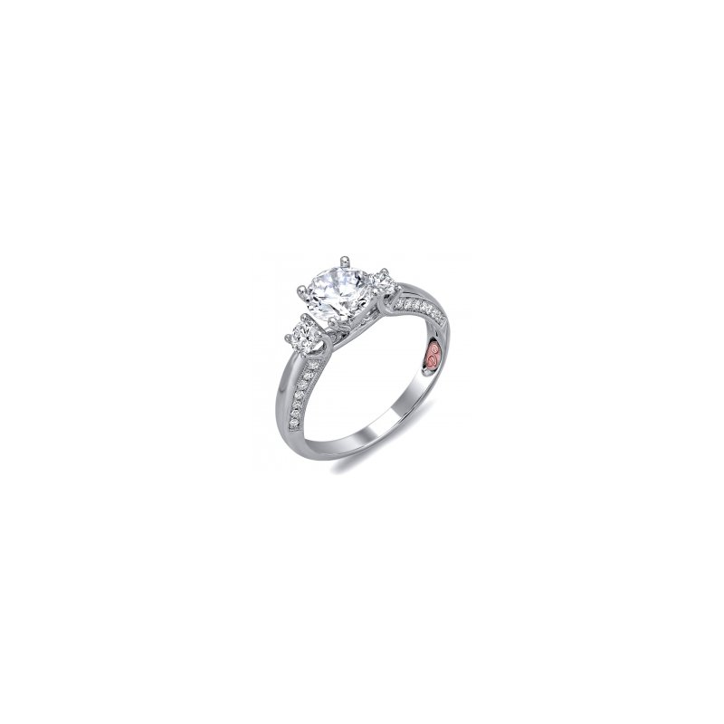 Demarco Demarco DW6093 - 18k White Gold Engagement Ring by Demarco