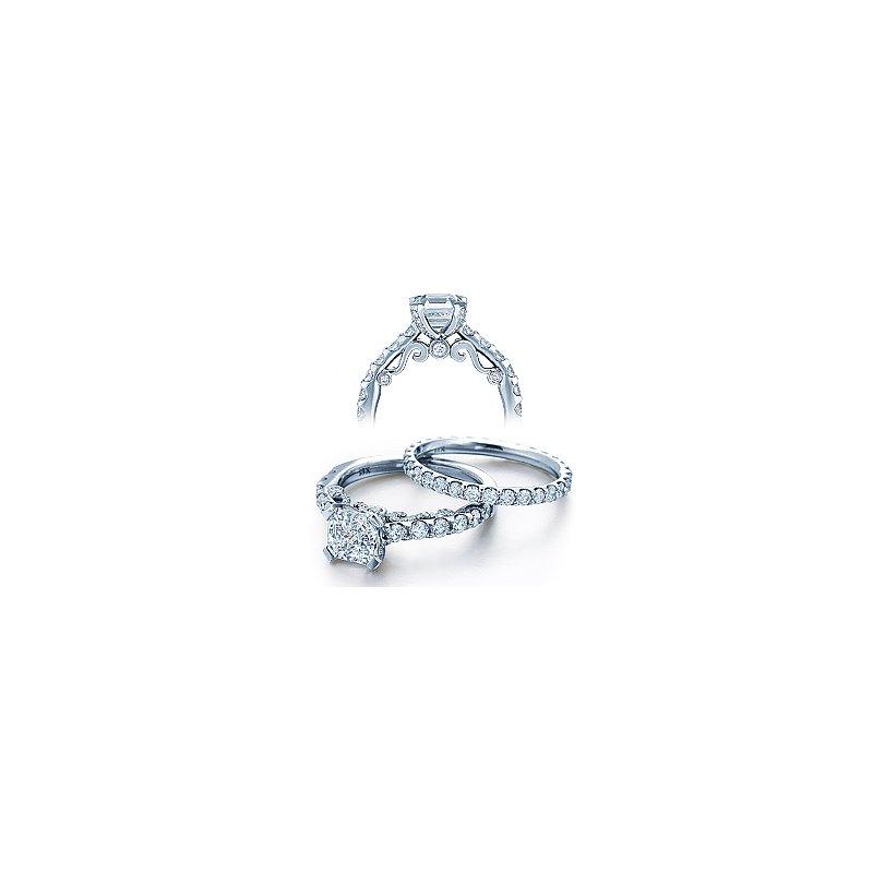 Verragio Verragio Insignia 7001 - 18k White Gold Diamond Engagement Ring by Verragio