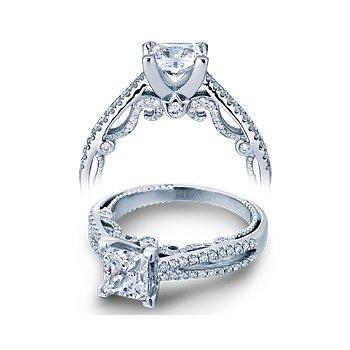 Verragio Insignia 7073P - 14k White Gold Diamond Engagement Ring by Verragio