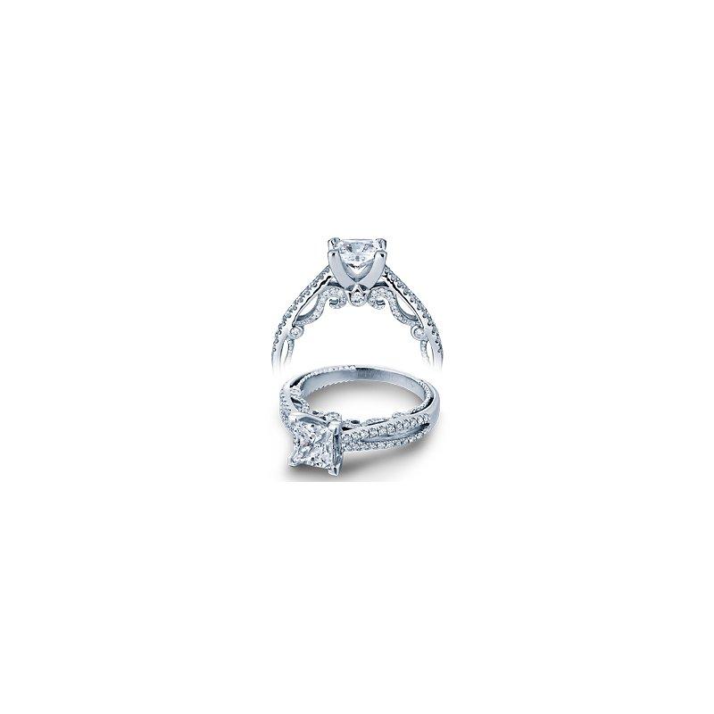 Verragio Verragio Insignia 7073P - 14k White Gold Diamond Engagement Ring by Verragio