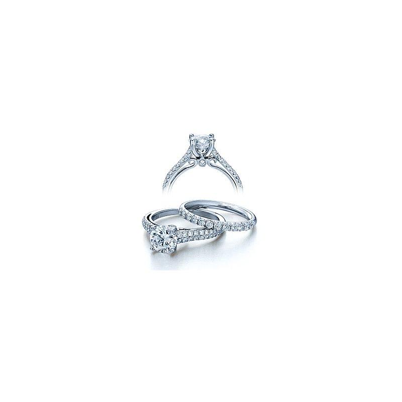 Verragio Verragio Couture 0382R - 18k White Gold Diamond Engagement Ring by Verragio