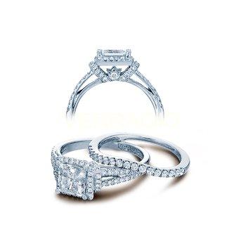 Verragio Couture-0381P - 14k White Gold Diamond Engagement Ring by Verragio