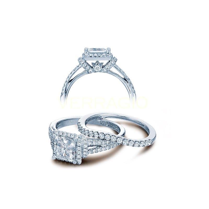 Verragio Verragio Couture-0381P - 14k White Gold Diamond Engagement Ring by Verragio