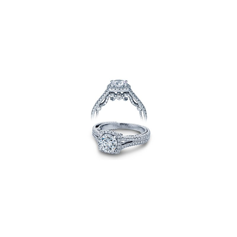 Verragio Verragio Insignia 7062CU - 14k White Gold Diamond Engagement Ring by Verragio