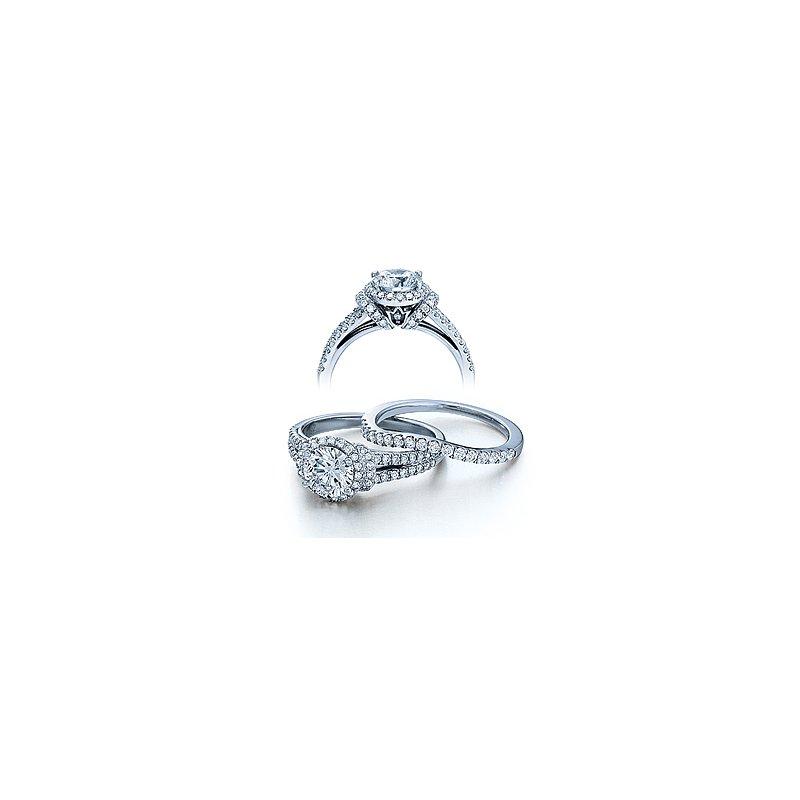 Verragio Verragio Couture 0381-PLT - Platinum Diamond Engagement Ring by Verragio