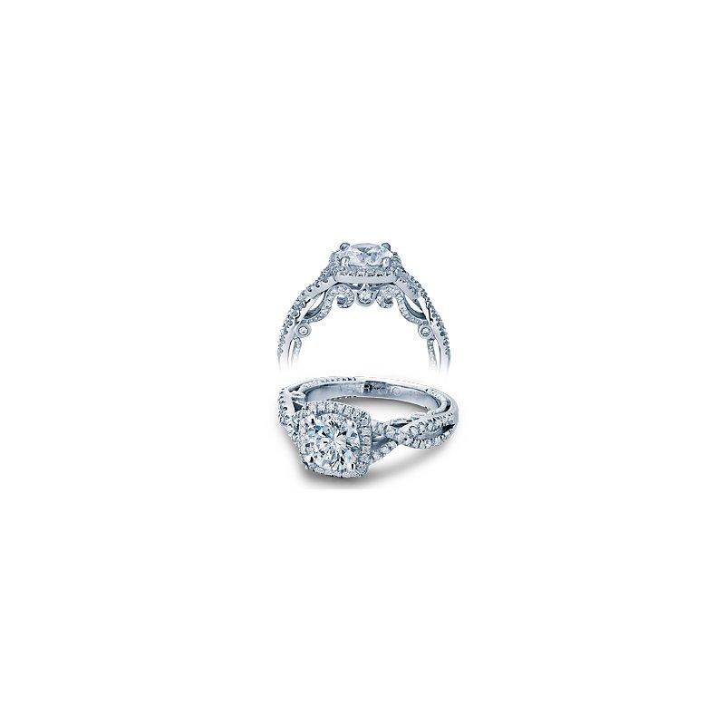 Verragio Verragio Insignia 7070CU - 18k White Gold Diamond Engagement Ring by Verragio