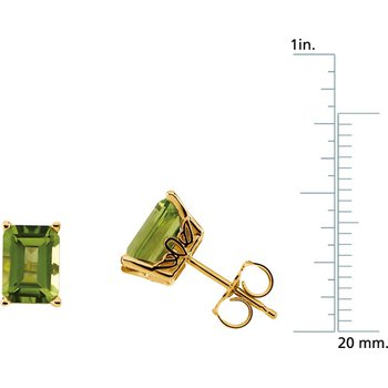 Genuine Peridot Earrings