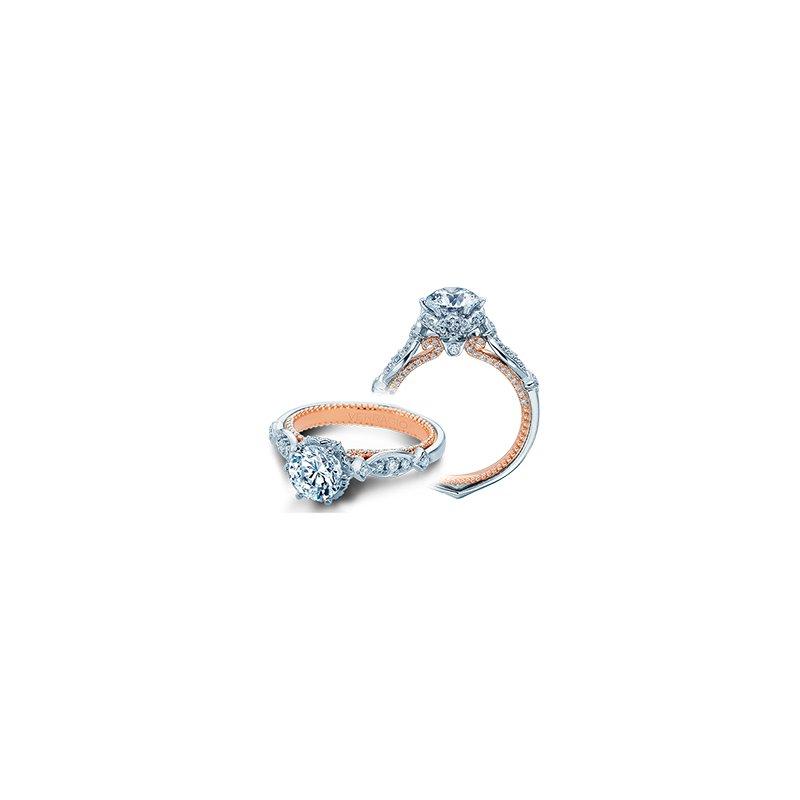 Verragio Verragio Couture 0443 R - 18k White and Rose Gold Diamond Engagement Ring