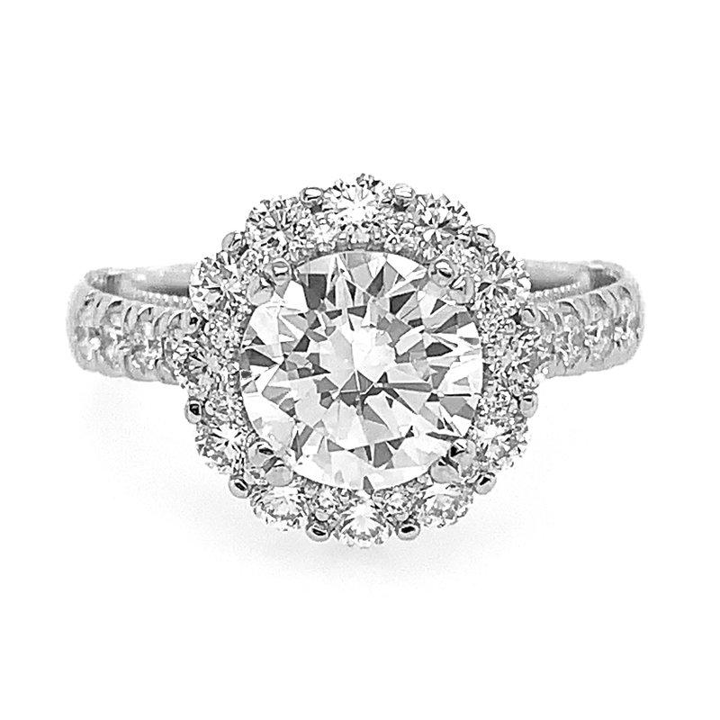 Verragio Verragio Venetian 5080R-8 Round Halo Engagement Ring