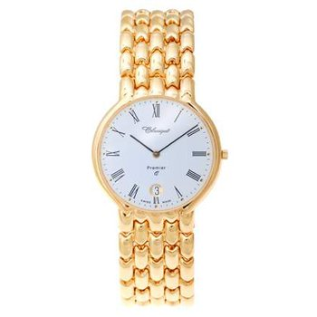 Classique Gents Stainless Steel Gold Plated Swiss Quartz Watch - 9/69GP