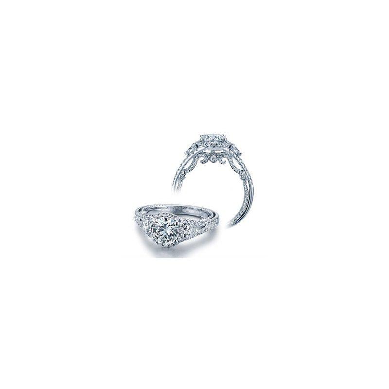 Verragio Verragio Insignia 7068R - 18k White Gold Diamond Engagement Ring by Verragio