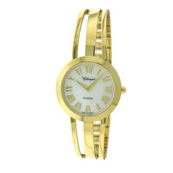 Classique' Ladies Gold Plate 1/2 Bangle Watch - #28-130G