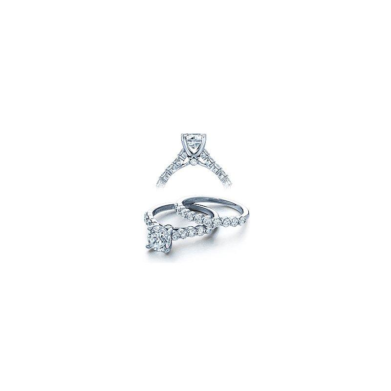 Verragio Verragio Couture 0410SR - 18k White Gold Diamond Engagement Ring by Verragio