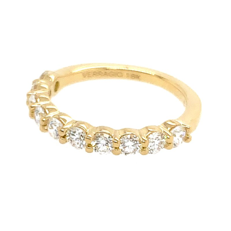 Verragio Verragio Couture ENG-0410LW Wedding Band in 18k Yellow Gold