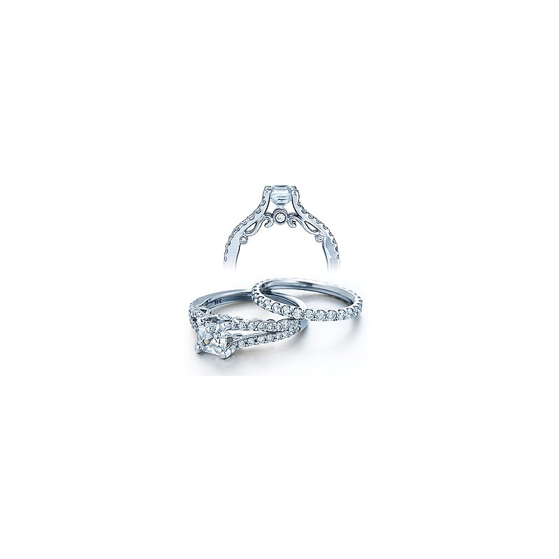 Verragio Verragio Insignia 7008 - 18k White Gold Diamond Engagement Ring by Verragio
