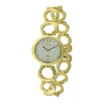Classique' Ladies Stainless Steel Gold Plated Watch - #28-131G