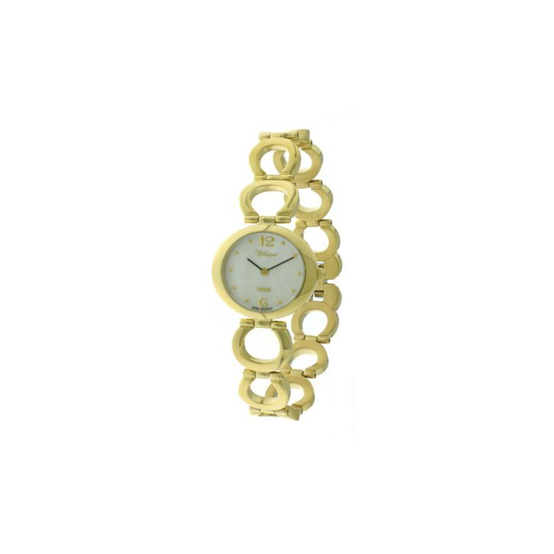 Swiss Watches Classique' Ladies Stainless Steel Gold Plated Watch - #28-131G