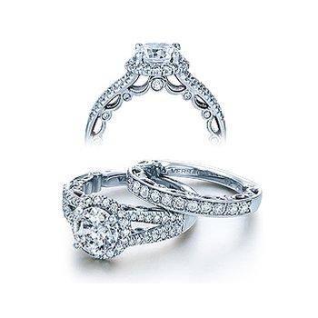 Verragio Paradiso 3063R - 18k White Gold Diamond Engagement Ring by Verragio