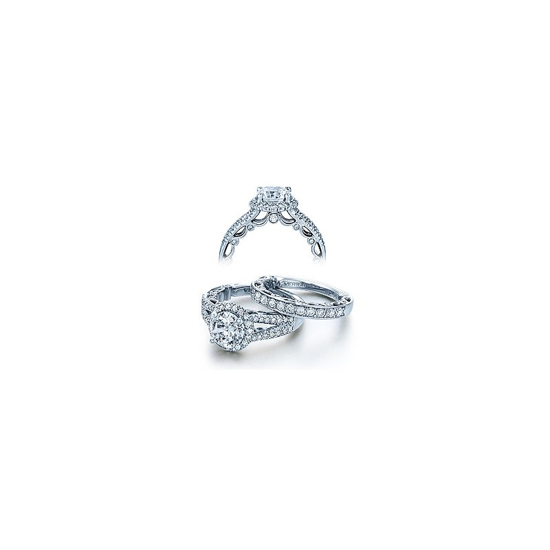 Verragio Verragio Paradiso 3063R - 18k White Gold Diamond Engagement Ring by Verragio