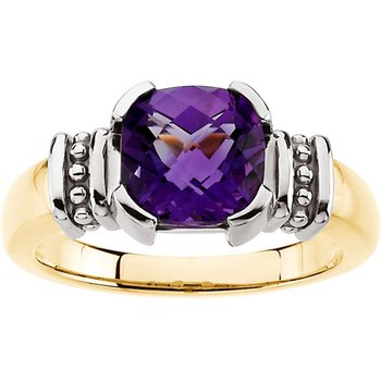 Genuine Amethyst Ring
