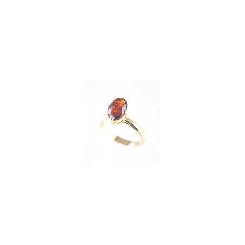 Signature Collection Genuine Citrine Ring in 14k Yellow Gold
