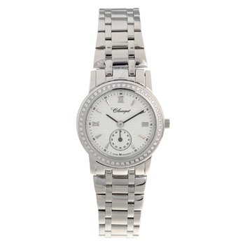 Classsique' Ladies Stainless Steel Diamond Set Watch - #28-112WD