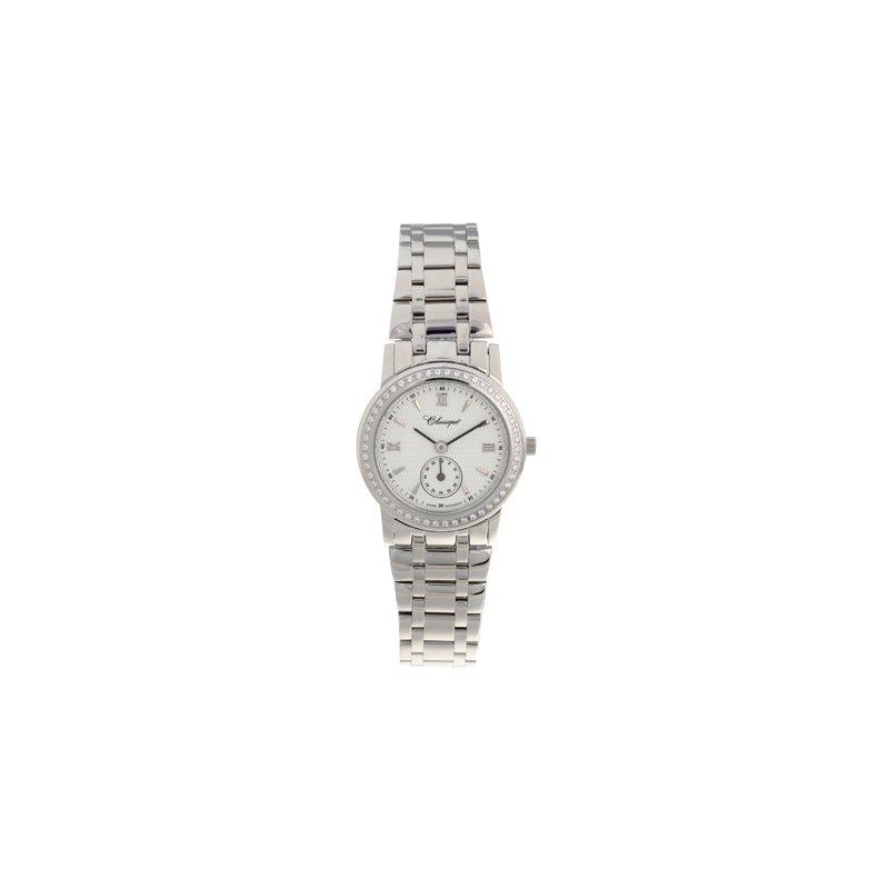 Swiss Watches Classsique' Ladies Stainless Steel Diamond Set Watch - #28-112WD