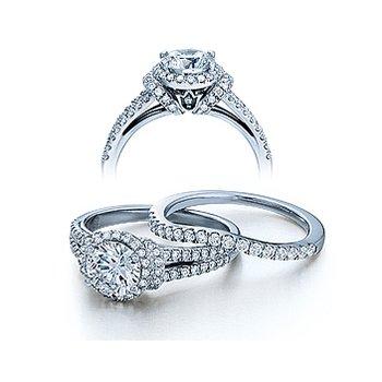Verragio Couture-0381 - 14k White Gold Diamond Engagement Ring by Verragio