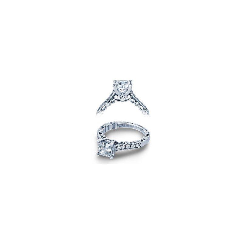 Verragio Verragio Paradiso-3076PLT - Platinum Diamond Engagement Ring by Verragio