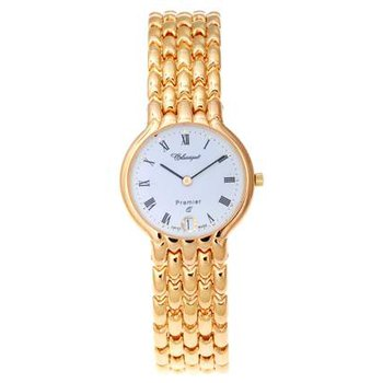 Classique Ladies' Stainless Steel Gold Plated Swiss Quartz Watch - #35710