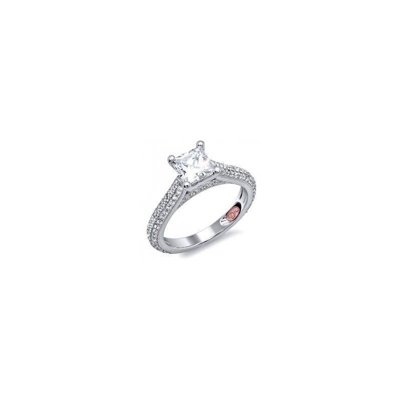 Demarco Demarco DW4962 - 18k White Gold Engagement Ring by Demarco