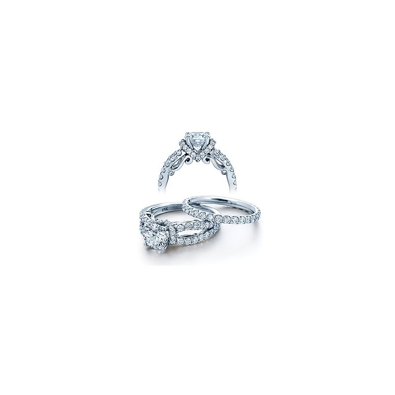 Verragio Verragio Insignia 7013 - 18k White Gold Diamond Engagement Ring by Verragio