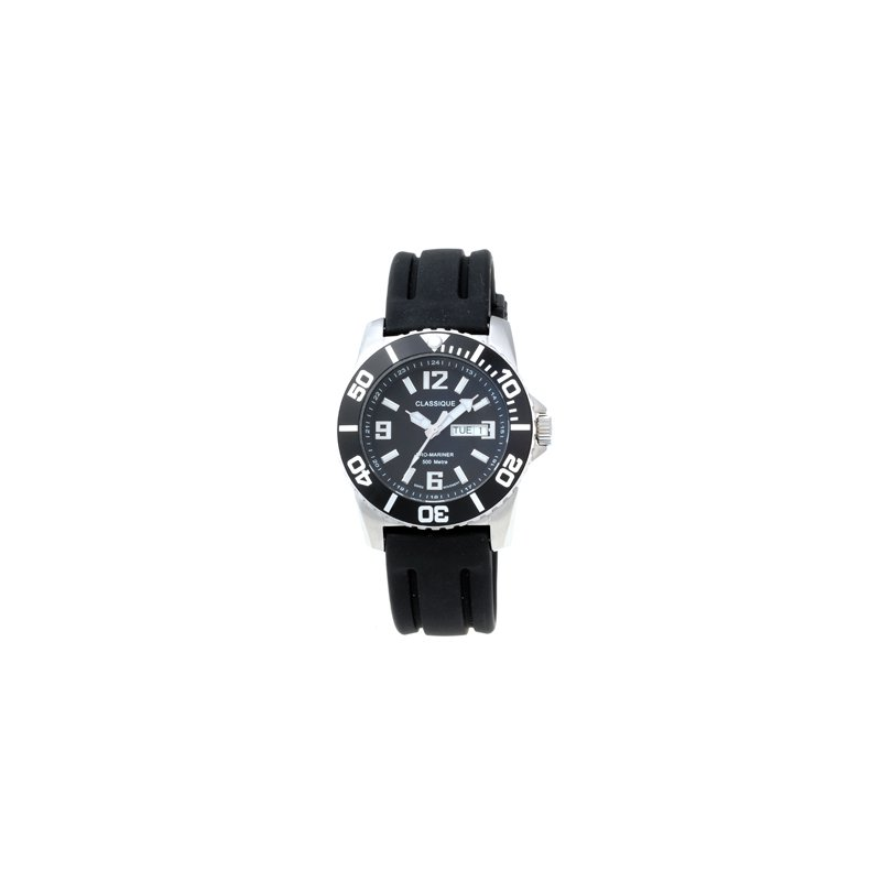 Swiss Watches Classique Gents Stainless Steel 500M Divers Swiss Quartz Watch - #33-02