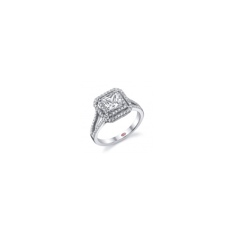 Demarco Demarco DW5348 - 18k White Gold Engagement Ring by Demarco