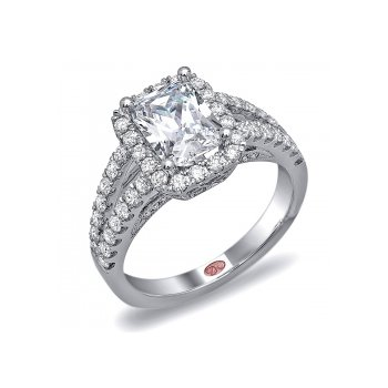 Demarco DW6010 - 18k White Gold Engagement Ring by Demarco
