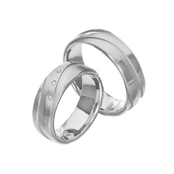 Palladium 7mm Wedding Band