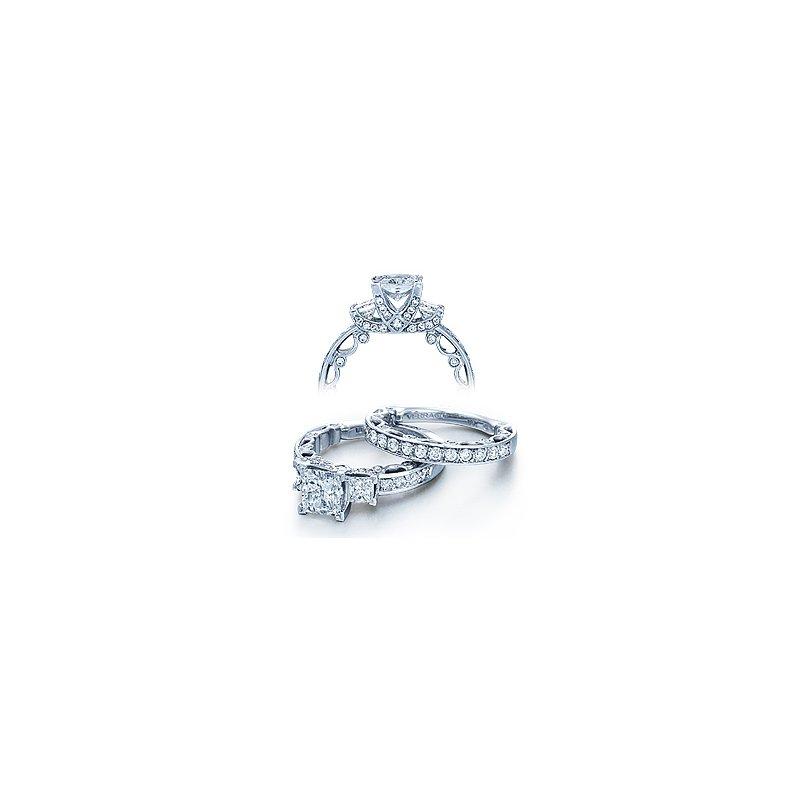 Verragio Verragio Paradiso 3064P - 18k White Gold Diamond Engagement Ring by Verragio