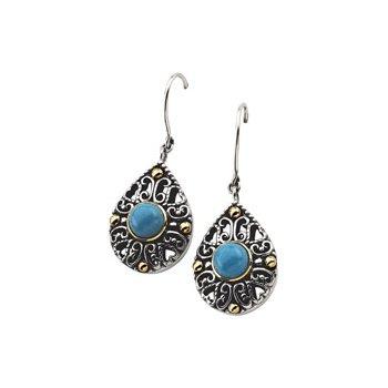 Genuine Turquoise Earrings