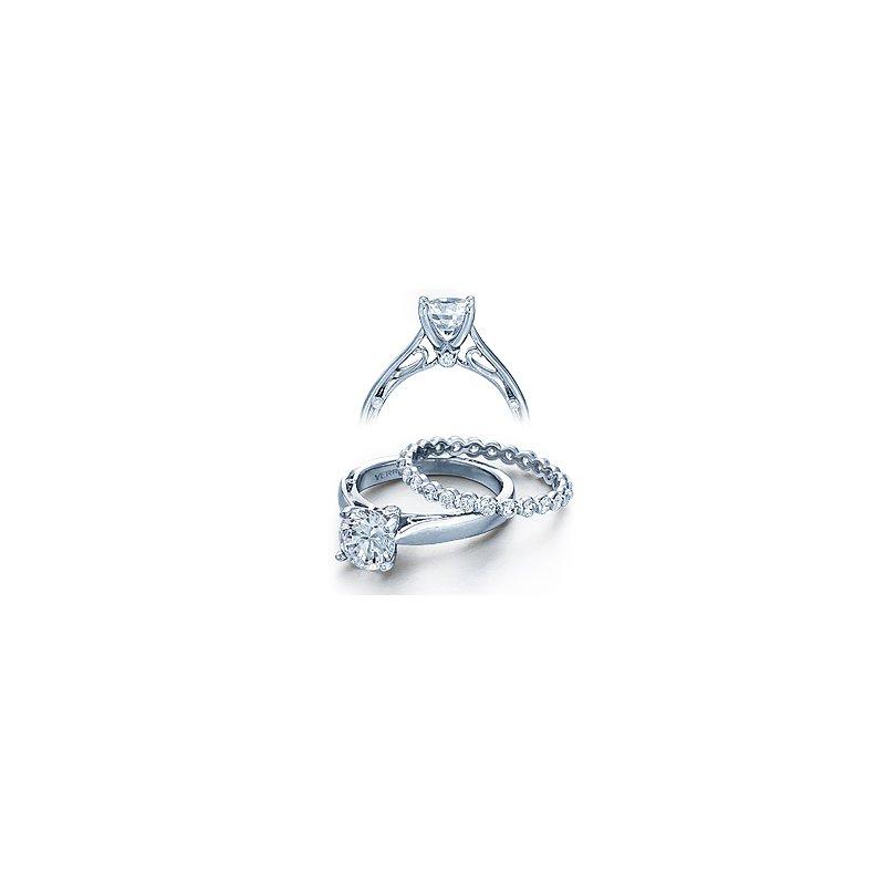 Verragio Verragio Couture 0409R - 18k White Gold Diamond Engagement Ring by Verragio